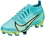 Nike Vapor 14 Pro FG, Zapatillas de ftbol Unisex Adulto, Dynamic Turq Lime Glow Off Noir, 40 EU