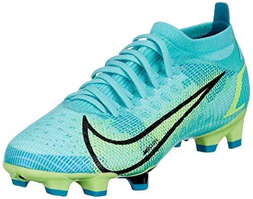 Nike Vapor 14 Pro FG, Zapatillas de ftbol Unisex Adulto, Dynamic Turq Lime Glow Off Noir, 43 EU