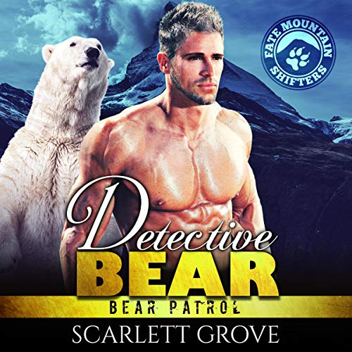 Detective Bear audiobook cover art