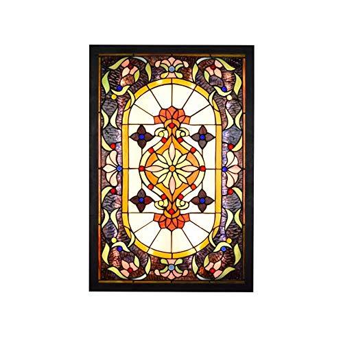 ShiSyan Mural de la lámpara británica Modren creativo Salón Comedor Dormitorio Foyer de noche Fondo de la pared de la lámpara de cristal de la lámpara decorativa decoración de la pared de la lámpara L