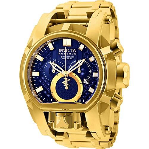 Relógio Invicta Reserve Bolt Zeus Magnum 25209 Dourado/Azul