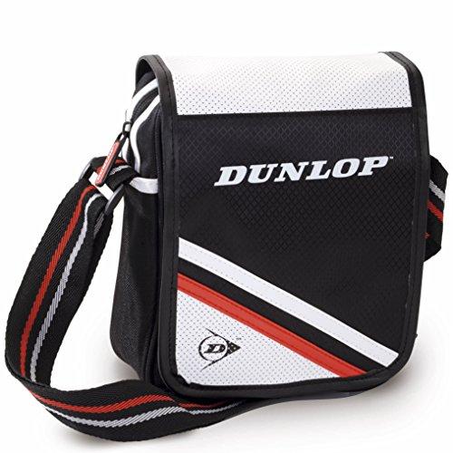 Bolso deportivo marca Dunlop, poliéster. 17x23x6.5cm.