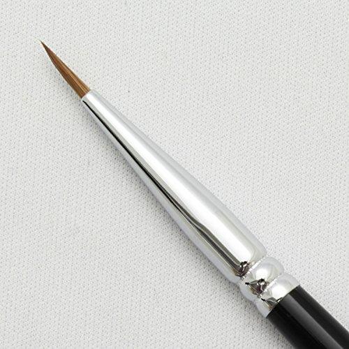 熊野筆メイクブラシSRシリーズアイライナーブラシ小イタチ毛