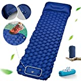 Sleeping Pad,Camping Mat,Camping pad,Ultralight Camping Mattress with Cool Towel and Pillow for Camping