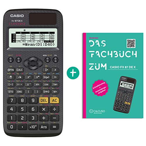 Casio FX-87DE X + Fachbuch