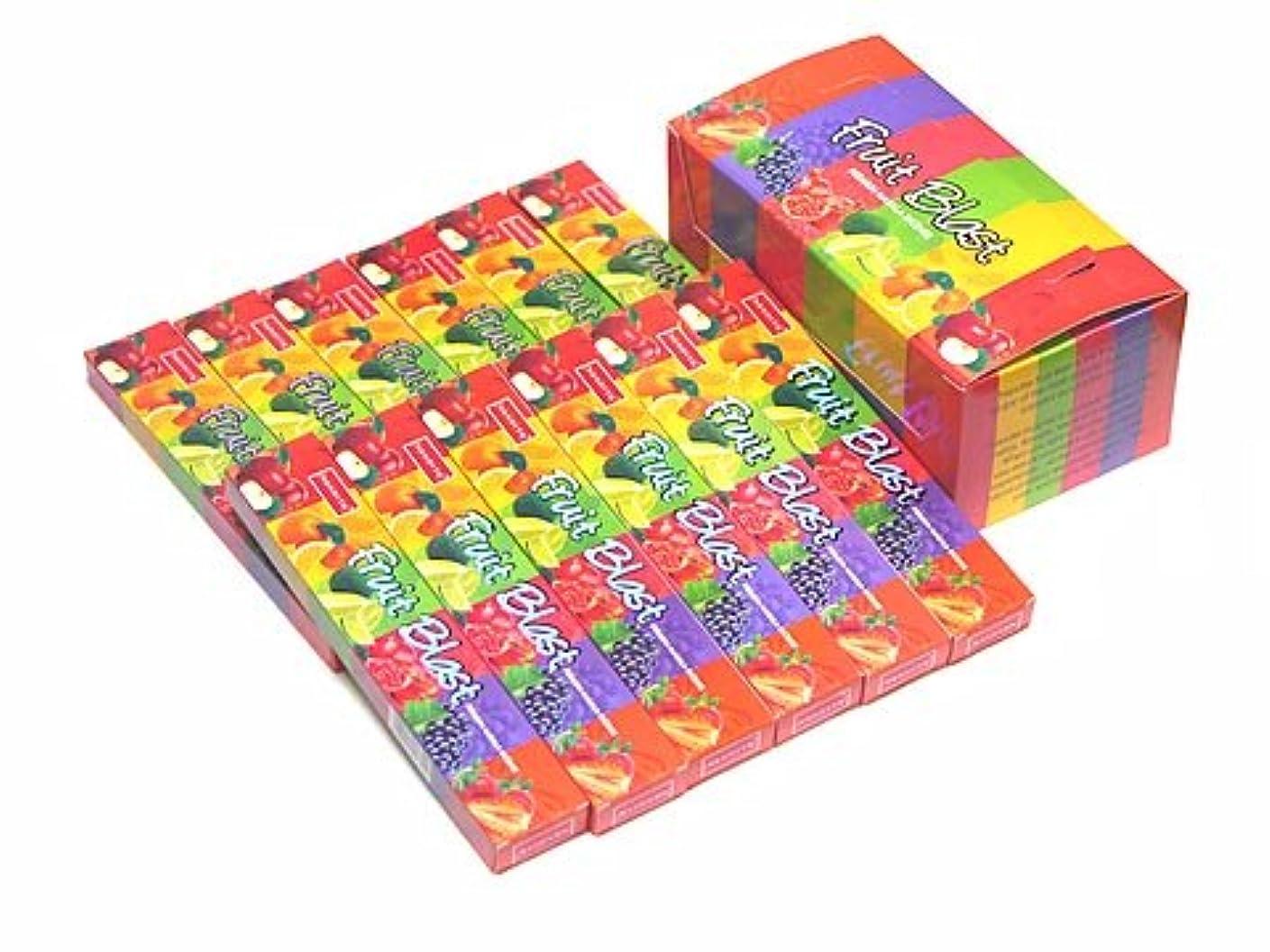 干ばつさらに不確実NANDITA(ナンディータ) フルーツブラスト香 スティック FRUIT BLAST 12箱セット
