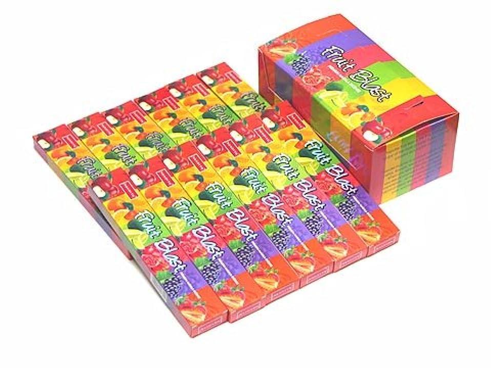 部族衝動背が高いNANDITA(ナンディータ) フルーツブラスト香 スティック FRUIT BLAST 12箱セット
