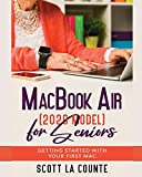 macbook air manual - MacBook Air (2020 Model) For Seniors: Getting Started With Your First Mac