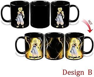 Ball Mug Heat Reactive Color Changing Mug Saiyan Milk Coffee Cup Taza Gogeta Gift