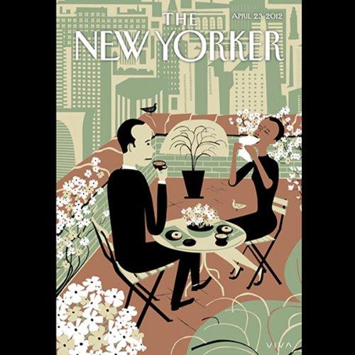 The New Yorker, April 23rd 2012 (Jill Lepore, Judith Thurman, Adam Gopnik) cover art