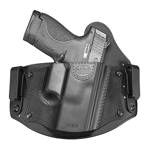 Fobus Universal Inside The Waistband Holster Combat Cut Medium Frame Pistols Right Hand Belt, Black (one Size) (IWBMCC)