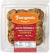 Fancypants Baking Co   Keto Diet Low Carb, Snack Cookies   Soft, Chewy Gluten Free & Nut Free   3 Pack (Orange)