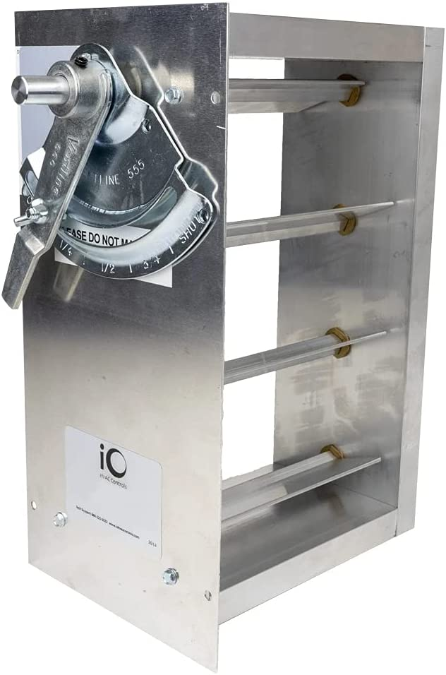 iO Boston Mall HVAC Controls MBD-1408-BM Sale Special Price 14 Manual Inch Rectangular 8 X