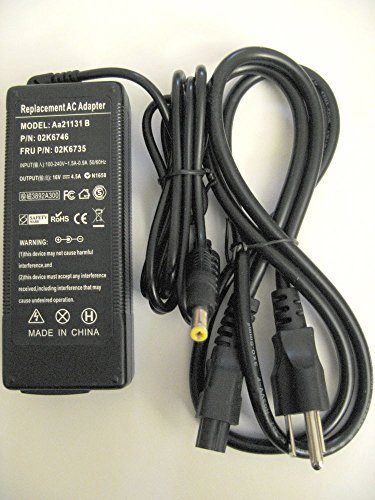 Laptop Ac Adapter Charger for Panasonic Toughbook CF-AA1653A,...