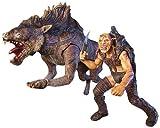 Toy Biz 81338 - El Señor de los Anillos El Retorno del Rey Deluxe Beast Rider Set y Sharku con Bestia Warg [importado de Alemania]