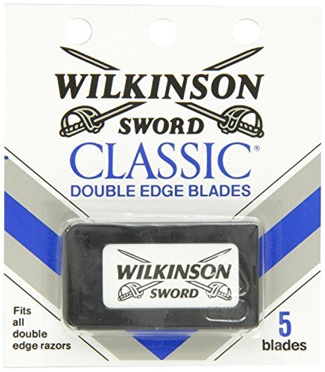 スカープシンポジウムしなやかウィルキンソン ソード (Wilkinson Sword) ドイツ製 両刃替刃 5枚 [並行輸入品]