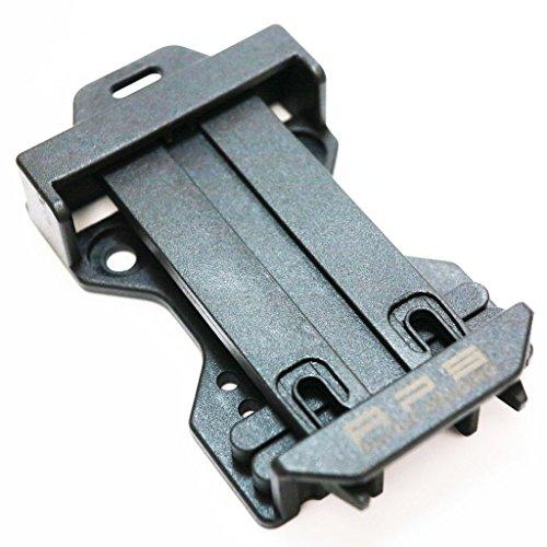 Airsoft Softair Ausrüstung APS Gürtelschlaufe für Caddy-System (Fit Molle) Schwarz