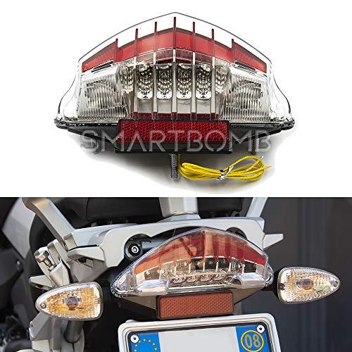 Fanale posteriore LED indicatore direnzione luce freno trasparente R1200GS Standard Adventure 2004-2013 F650 Dakar GS ST F800GS R/S/ST/ADV
