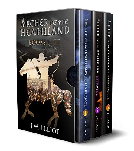 Archer of the Heathland Box Set Books 1-3: Deliverance, Betrayal, Vengeance