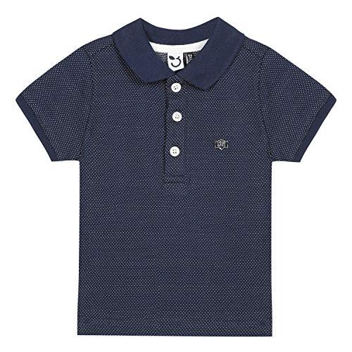 3 pommes Baby-Jungen 3q11003 Polo Mc Poloshirt, Blau (Marine 04), 9-12 Monate (Herstellergröße: 9/12M)