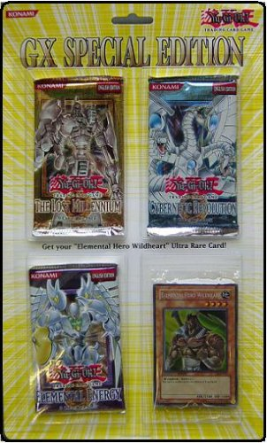 Yugioh! GX Special Edition Blister Pack (3 packs + 1 promo) [Toy]