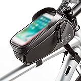 Lixada Bolsa de Tubo de Pantalla Táctil/Bolsa de Silla de Montar/Bolsa de Bicicleta Impermeable/Bolso
