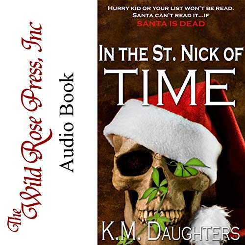 In the St. Nick of Time audiobook cover art