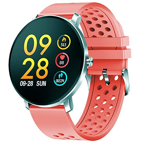 Denver SW-171ROSE Smartwatch Silver IPS 3,3 cm (1,3 inch) SW-171ROSE, 3,3 cm (1,3 inch), IPS, touchscreen, 240 h, 100 g, zilver
