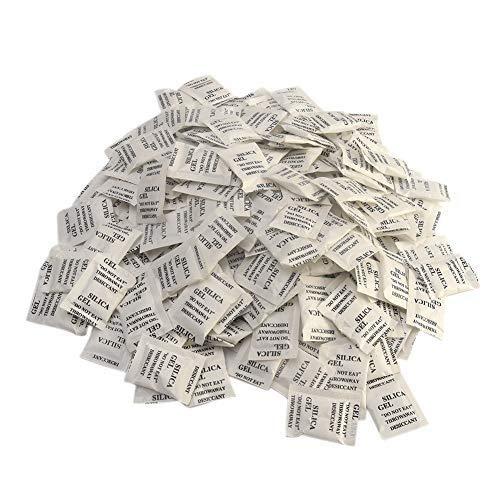 200 bolsas deshidratantes para bolsas de gel de sílice. Paq