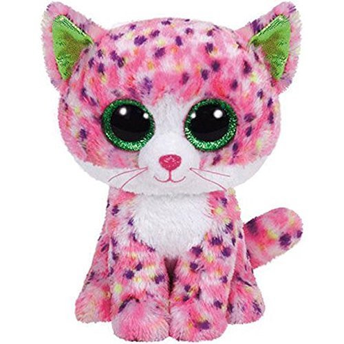 Ty Beanie Boos 6 Sophie Pink Polka Dot Cat Gift Collections Plush Doll Toys
