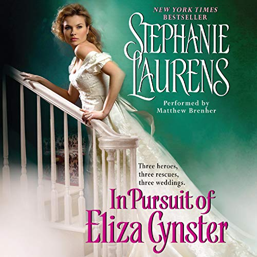 In Pursuit of Eliza Cynster cover art