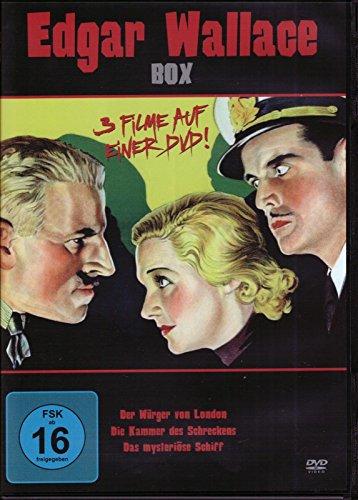 Edgar Wallace Klassiker Edition - Der Würger von London + Die Kammer des Schreckens + Das mysteriöse Schiff DVD Limited Box
