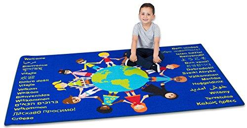 Kite KAMAT1160 Kinderen van de Wereld Welkom Tapijt