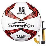 Senston Football Training Ball Size 4 Official Match Football Adults and Junior Kids