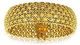 Avenuedubijou Bracelet Maille Paillasson Or Jaune 750/1000