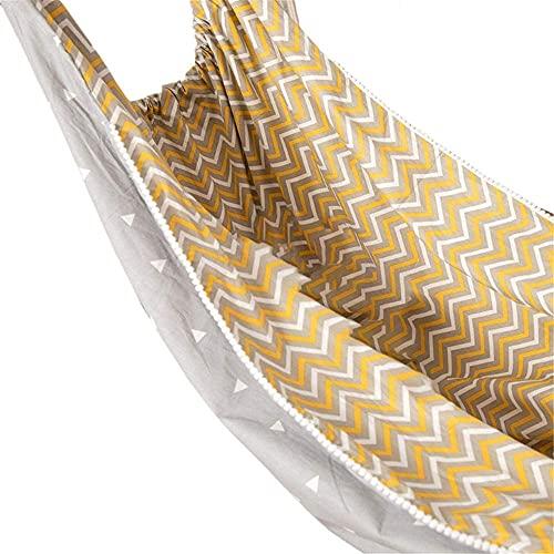 TNSYGSB Niños Hamaca Swing Interior Colgando Canasta algodón Tela Bolsa Silla Sala de bebé Decoraciones para el hogar niñas-a hamacas Colgantes (Color : B)