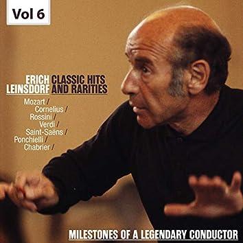 Milestones of a Legendary Conductor: Erich Leinsdorf, Vol. 6