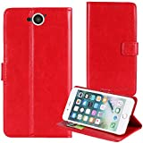 TienJueShi Red Book Stand Premium Retro Business Flip
