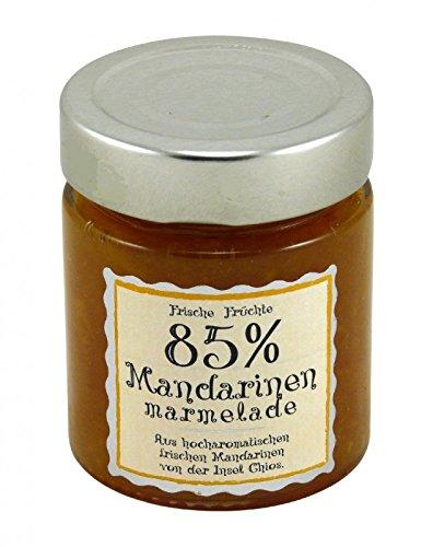 Mandarinen Marmelade 85% Fruchtanteil 180g von der Insel Chios