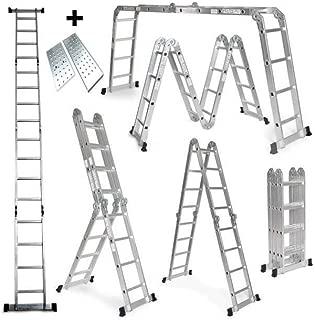 Grandmaster - Escalera De Aluminio Plegable 475cm,