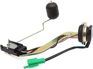 sourcing map Negro Sensor del Medidor de Nivel Gasolina para WH100 Moto Scooter