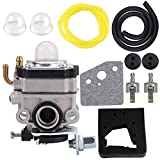 Hipa Carburetor + Air Filter Tune Up Kit for Honda GX22 GX31 Engine FG100 Tiller