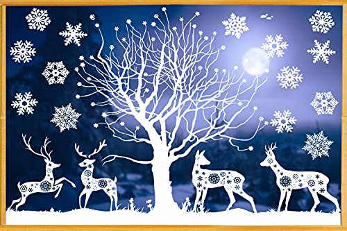 decorazioni natalizie negozi Vetrofanie Natalizie