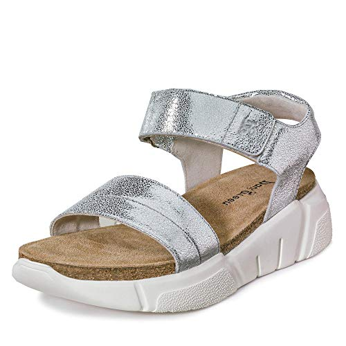 Paul Green dames sandalen 7524 7524-024 zilver 669936
