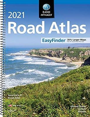 Rand McNally 2021 EasyFinder® Midsize Road Atlas (Rand McNally Road Atlas) from Rand McNally
