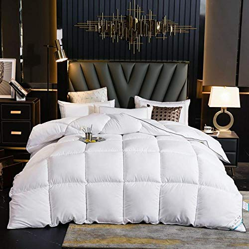 CHOU DAN Down duvet 95 white goose down quilt spring and autumn thickened warm winter quilt double student quilt core-180x220cm 3000g_white