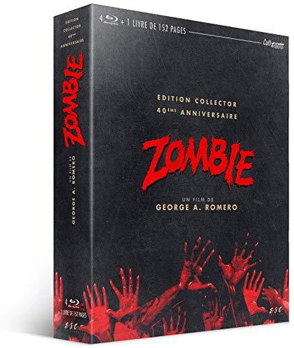 Le coffret livre + Blu-ray Edition Collector du film Zombie