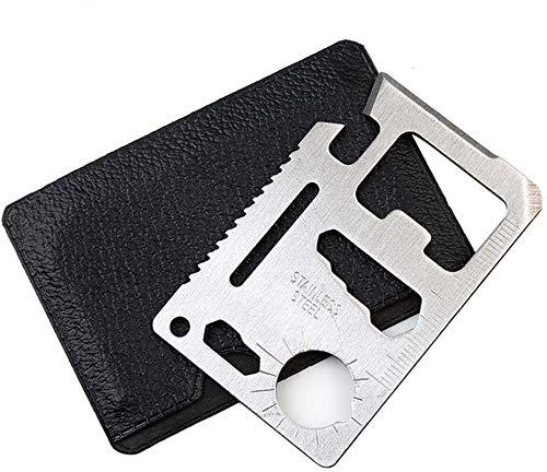 11-in-1-Kreditkarten-Survival-Werkzeug, Taschenwerkzeug und Gadgets, Kreditkarten-Bieröffner, Geschenke für Männer
