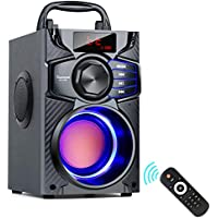 Portable Wireless Speaker with Party Light