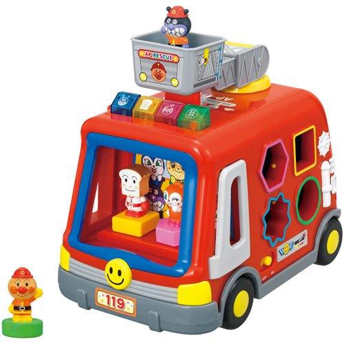 アンパンマン 音と光と手遊びいっぱい!DXパズル消防車